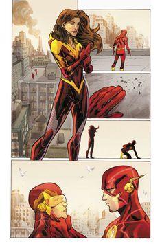 Iris West New suit
