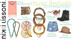 Music festival essentials 2014...put Nikki Lissoni on your list! - xx -