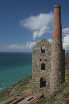 Old tin mine in Cornwall - England .. In the beginning it was tin that formed you, Great Britain, I believe The Lord has hid much. LugagBanda