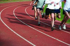 Interval workouts on the track