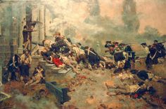 american revolutionary war paintings - Google Search