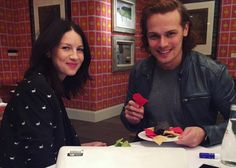 "crazystupidoutlanderlove: "" outlander-press: ""  Q&A with Sam Heughan & Caitriona Balfe on Facebook 5th of April 2016 iTunes What was it like preparing to become these characters? How did you familiarize yourselves with the time period? Outlander SH:..."