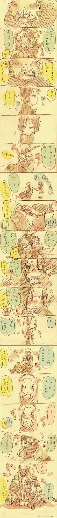 Naruto | Masashi Kishimoto | Studio Pierrot / Team 7/#609351 - Zerochan