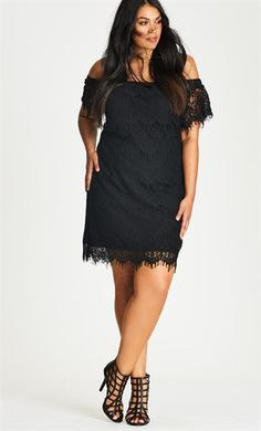 Shop Women's Plus Size Party Dresses, special event dresses, fun dresses, print dresses, little black dresses & more at City Chic - The Destination for on Trend Curvy Fashion. City Chic Dresses, Nice Dresses, Dresses Dresses, Curvy Fashion, Womens Fashion, Plus Size Party Dresses, Date Night Dresses, Plus Size Women, Dress To Impress