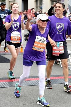 Athletics: 94-year-old Harriette Thompson set a record as the oldest woman to run a half marathon