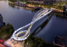 20 Most Iconic Bridges across the River Thames in London, between Nine Elms and Pimlico. 74 proposals from across the globe have submitted rival ideas for