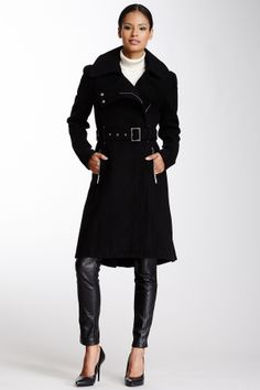 Box Pleat Trench Coat, even a little bad ass looking, but feminine.
