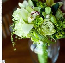 All green flowers by www.flowercupboard.com
