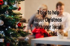 7 Tips to Surviving Christmas ~ An Ordinary Mom in An Unordinary World No Bake Cookies, Christmas Cards, Survival, Parenting, Mom, Holiday Decor, World, Tips, Christmas E Cards