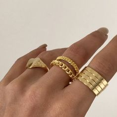 Dainty Jewelry, Cute Jewelry, Gold Jewelry, Jewelry Accessories, Fashion Accessories, Trendy Jewelry, Luxury Jewelry, Grunge Accessories, Layered Jewelry