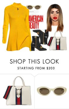 """Self help"" by fashion-is-my-passion-14 on Polyvore featuring Gucci and Elizabeth and James"