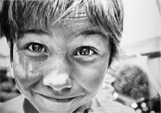 Parece fotografia: retratos hiper-realistas feitos apenas com lápis de Franco Clun