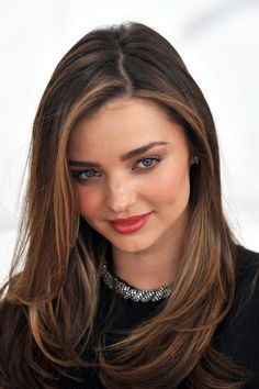 Miranda Kerr - Hair Color | Get the look at the Cosmotech clinic http://www.cosmotechschool.com/clinic/ | 207-591-4122