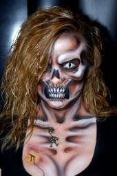 Amazing makeup by EvilTwinFx www.eviltwinfx.co...