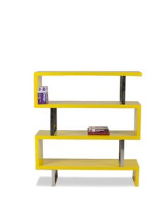 Santoni Bookshelf (Yellow) by Pangea Home at Gilt