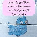 Linked to: www.deaniesstash.com/easy-home-sign-even-a-beginner-or-a-10-year-old-can-make-one/