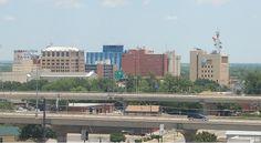 Downtown Wichita Falls Texas