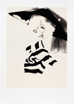 David Downton - Dior Couture A/W 2009 (2) - Fashion Illustration Gallery