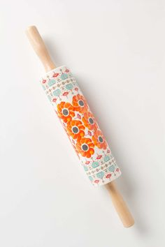 Poppy Ring Rolling Pin | Anthropologie.eu