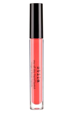 Free shipping and returns on stila 'stay all day' liquid lipstick at Nordstrom.com. A creamy-matte, full-coverage lip color delivers intense moisture with bold, long-lasting color and stays in place for up to six hours of continuous wear. The texture is weightless on lips and delivers superb comfort with a color-rich formula that will not bleed or transfer. Enriched with vitamin E and avocado oil, 'stay all day' liquid lipstick hydrates and softens the lips so they look and feel beautiful…