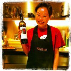 Argiolas wine tasting in Hong Kong: The best teppanyaki chef