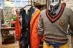 Today it was the launch of the second Gant Campus Store in The Netherlands, last year the brand.