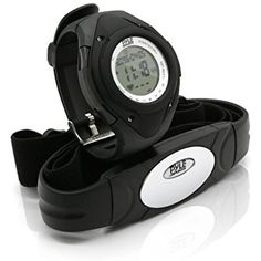 Pyle Sports PHRM38BK Heart Rate Monitor Watch with 3D Walking/Running Sensor *** You can find out more details at the link of the image. (This is an affiliate link) #MedicalSuppliesEquipment