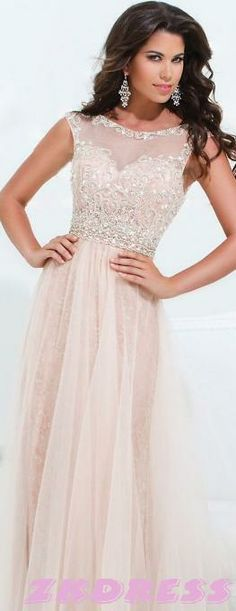 Very pretty prom dress, but could be used as a wedding dress or rehearsal dress.