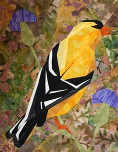 silver linings quilting pattern goldfinch
