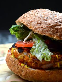 Veggie Burgers Amazing Spicy Chickpea Veggie Burgers - They actually hold together and the flavour is unreal! Vegan and Gluten-FreeAmazing Spicy Chickpea Veggie Burgers - They actually hold together and the flavour is unreal! Vegan and Gluten-Free Veggie Recipes, Whole Food Recipes, Vegetarian Recipes, Cooking Recipes, Healthy Recipes, Free Recipes, Vegetarian Barbecue, Hamburger Recipes, Vegetarian Cooking