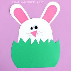 easter bunny hiding craft
