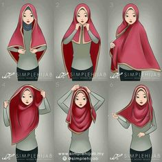 Square hijab tutorial Omg yeayyy found the tutorial. I've been trying many ways to wear square hijab zz Square Hijab Tutorial, Simple Hijab Tutorial, Hijab Style Tutorial, Islamic Fashion, Muslim Fashion, Hijab Fashion, Hijab Dress, Hijab Outfit, Muslim Girls