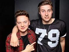 Conor and alex
