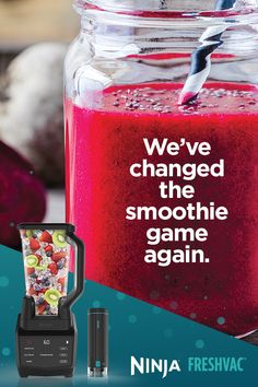 Experience the Ninja® FreshVac™ Technology Vacuum Blender difference. Create vitamin rich, fresh overnight drinks with enhanced textures. Smoothie Prep, Juice Smoothie, Smoothie Drinks, Smoothie Recipes, How To Make Smoothies, Easy Smoothies, Making Smoothies, Yummy Drinks, Health Foods