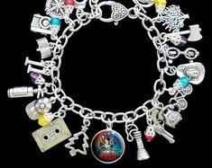 Stranger Things Themed Charm Bracelet