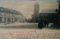 AK Königsberg i Pr.  Münz -Platz