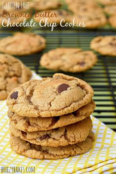 Gluten Free Browned Butter Chocolate Chip Cookies