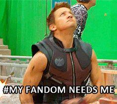 My fandom needs me #humor #fanedit