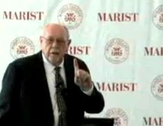 """""""Father of Integrated Marketing Communication"""" Dr. Don Schultz explains principles of IMC at Marist College, March 7, 2014. Do you know what they are? Click the image and Don will tell you."""