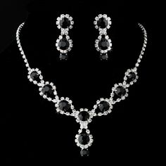 black Jewelry |set