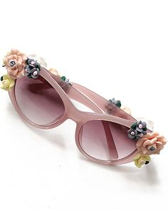 Pink Lenses Black Flower Embellished Sunglasses pictures Flower Sunglasses,  Beach Sunglasses, Sunglasses Outlet, c62b327070ce