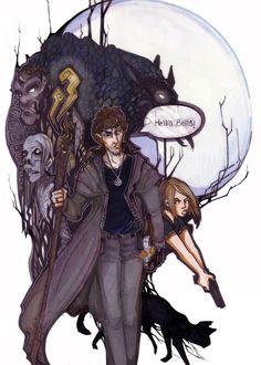 """Dresden Files - Harry Dresden: """"Hell's Bells!""""  http://zirofax.deviantart.com/"""