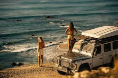 Defender Ladies — Land Rover Defender and woman