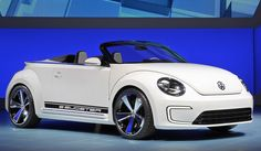 Sweeeeet: VW e-bugster speedster cabriolet.  And this from a non-car person!