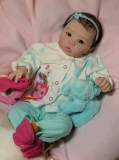 Reborn baby girl doll