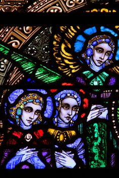 """""""Harry Clarke - Stained Glass 2"""" by Lucy Franks on Flickr - Stained Glass by Harry Clarke in Cavan Cathedral"""