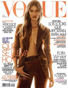 Malgosia Bela by Greg Kadel Vogue España August 2012