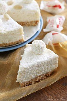 cheesecake raffaello la prepariamo per Pasqua? E' facilissima buona buona #ricetta #dessert #food