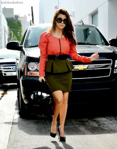 kourtney kardashian style, if only I could pull it off.