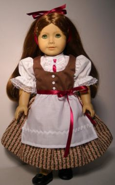 """Fits 18"""" American Girl doll Germany German folk dress clothes D (COSTUME ONLY)"""